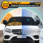Magnetic Windshield Snow Cover 2.0