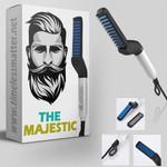 🔥 The Majestic Premium Beard Straightening Comb
