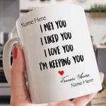 Personalized Perfect Valentine's Day Mug