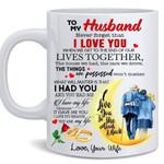To my Husband - Never forget that I Love You Mug