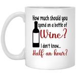 Wine by the Bottle Mug