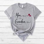 👩👧 Mom Est Grandma Est Shirt