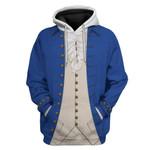 Alohazing 3D Alexander Hamilton Custom Hoodie Apparel