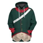 Alohazing 3D Napoleonic French Light Cavalry Campaign Dress Custom Hoodie Apparel