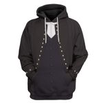 Alohazing 3D Lawyer In Formal Court Clothes Custom Hoodie Apparel