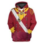 Alohazing 3D 6th Foot Officer Grenadier Company Custom Hoodie Apparel