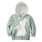 Rabbit Family Custom Hoodies T-shirt Apparel