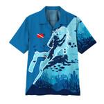 Alohazing 3D Scuba Diving Hawaii Shirt