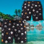 Alohazing 3D Anime Naruto Chibi Head Beach Shorts