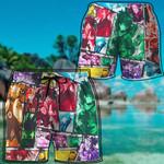 Alohazing 3D Anime Collection Beach Shorts
