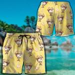 Alohazing 3D Anime Naruto Ramen Hawaii Beach Shorts