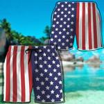 Alohazing 3D America Beach Shorts