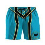 Alohazing 3D Power Rangers Mystic Force Blue Ranger Custom Men Shorts