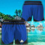 Alohazing 3D Blue Star Trek Custom Beach Shorts