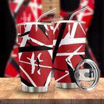 Alohazing 3D Red Frankenstrat Strings Custom Tumbler