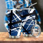 Alohazing 3D Blue Frankenstrat Strings Custom Tumbler