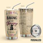 Alohazing 3D Baking Knowledge Personalized Tumbler