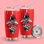 Alohazing 3D Mighty Morphin Power Rangers Red Ranger Tumbler
