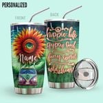 Alohazing 3D Hippie Life Personalized Tumbler