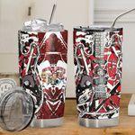 Alohazing 3D Red Frankenstrat Custom Tumbler