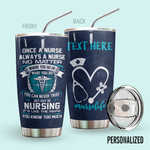 Alohazing 3D Nurse Personalized Tumbler Nurse Life