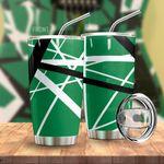 Alohazing 3D Green Frankenstrat Strings Custom Tumbler