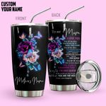 Alohazing 3D To My Mom I Love You Personalized Tumbler