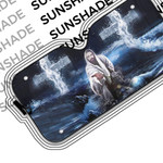 Alohazing 3D Jesus Saving Hands Car Auto Sunshade