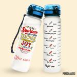 Alohazing 3D Teacher Supreme Art Of The Teacher Water Tracker Bottle