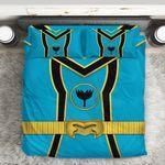 Alohazing 3D Power Rangers Mystic Force Blue Ranger Custom Bedding Set