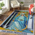 Alohazing 3D The High Priestess Card Custom Rug