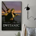 Alohazing 3D Dwitanic Custom Canvas