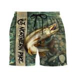 Alohazing 3D Northern Pike Fishing Shorts