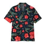 Alohazing 3D Paisley Hummingbird Hawaii Shirt