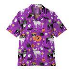 Alohazing 3D Boston Terrier Halloween Hawaii Shirt