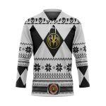 Alohazing 3D White Power Ugly Hockey Jersey