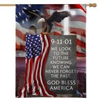 Alohazing 3D God Bless America Never Forget The Past Patriot Day 9/11 Flag