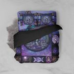 Alohazing 3D Tree Of Life Wicca Bedding Set