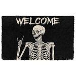 Alohazing 3D Welcome Skeleton Doormat