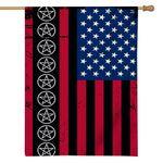 Alohazing 3D Wicca American Flag