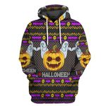 Alohazing 3D I Love Halloween Ugly Tshirt Hoodie Apparel
