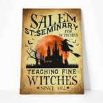 Alohazing 3D Salem St.Seminary For Witches Canvas