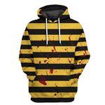 Alohazing 3D The Killer Bee Tshirt Hoodie Apparel