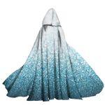 Alohazing 3D Tinkle Blue Hooded Cloak