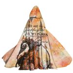 Alohazing 3D We Are The Granddaughter Of Witches Hooded Cloak