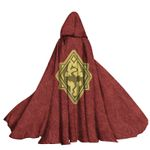 Alohazing 3D The ES V Skyrim Game Hooded Cloak