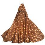 Alohazing 3D Twinkle Starry Night Hooded Cloak
