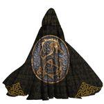 Alohazing 3D Fenrir Hooded Cloak