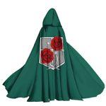 Alohazing 3D AOT Stationary Guard Hooded Cloak