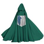Alohazing 3D AOT Scouting Legion Hooded Cloak